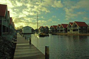 Klassieke schepenhaven Terhorne